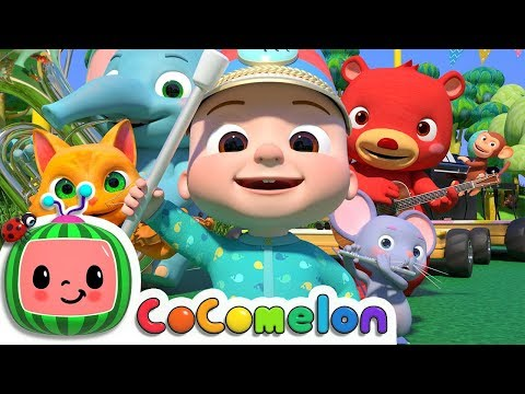 Musical Instruments Song Animal Band  ABCkidTV Nursery Rhymes & Kids Songs