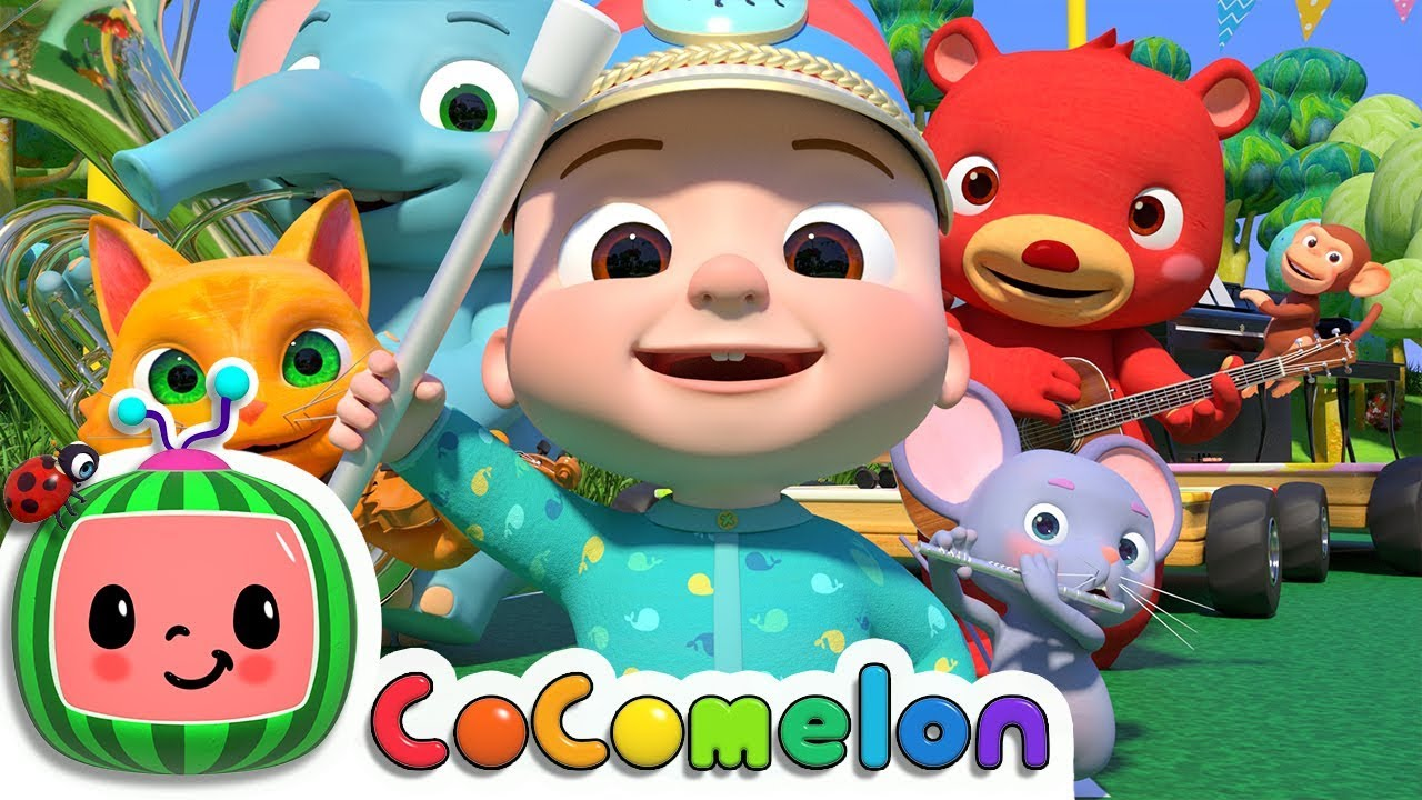 Musical Instruments Song | CoComelon Nursery Rhymes & Kids Songs