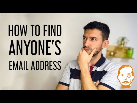 How to Find Anyone's Email Address