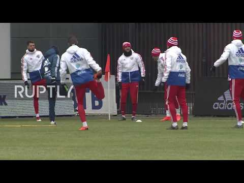 Russia: National team holds open practice ahead of Brazil friendly