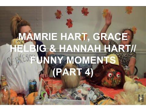 Mamrie Hart, Grace Helbig & Hannah Hart// Funny Moments (Part 4)