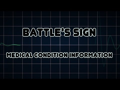 Battle's sign (Medical Condition)