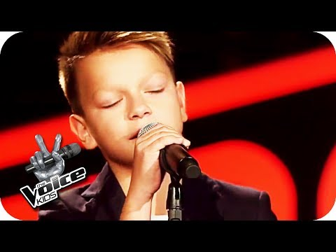 Shawn Mendes - Three Empty Words (Andrej)   The Voice Kids 2017   Blind Auditions   SAT.1