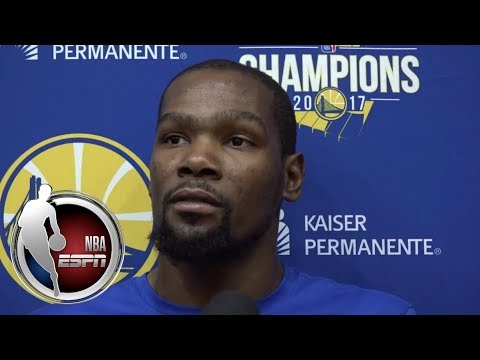 Kevin Durant lists Jay Z, Dr. Dre, Diddy and more as artists who inspire him | ESPN