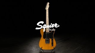 Squier Affinity Telecaster MN, Butterscotch Blonde | Gear4music demo