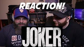 Joker | Official Teaser Trailer REACTION!