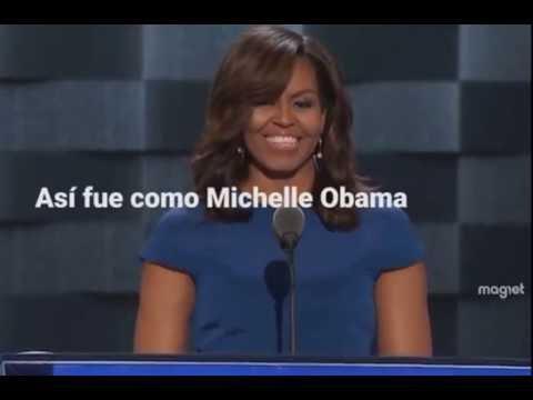 b09e31f225d El emotivo discurso de Michelle Obama en la Convención Demócrata Nacional
