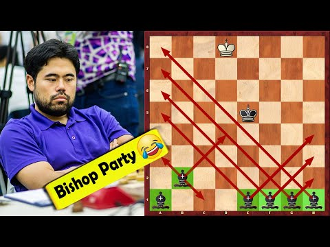 Must See! Nakamura's Famous 5 Bishop Checkmate