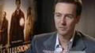 The Illusionist, Edward Norton interview