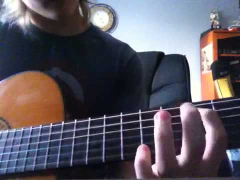 How to play landslide by Stevie nicks on guitar - YouTube