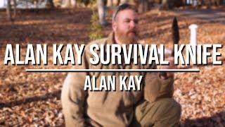 Alan Kay Survival Knife
