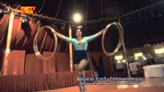 Hula Hoop - Хула Хуп - Номер с обручами - Заказать хулахуп - www.partytime.com.ua(, 2013-11-22T09:18:20.000Z)