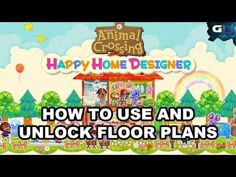 Animal Crossing: Happy Home Designer - How to Use and Unlock Floor Plans