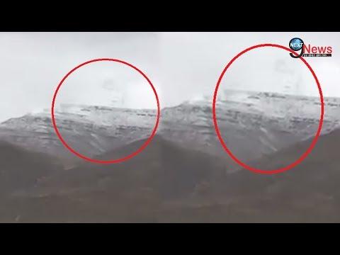 कैलाश पर्वत पर VIDEO में साक्षात दर्शन देते हुए शिव शंकर | Lord shiva appeared on Kailash