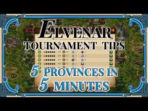 Elvenar Tournament Tips - 5 Provinces In 5 Minutes