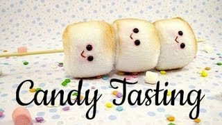 Asian Candy Tasting