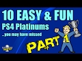 10 Easy(ish) & FUN PS4 Platinums You May Have Missed - Part 1