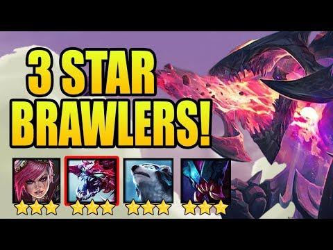 LVL 3 CHO'GATH GOLDEN BRAWLER ⭐⭐⭐| Teamfight Tactics | TFT MrMaikAp