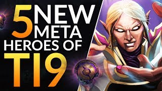Top 5 BEST HEROES in TI9 to DESTROY YOUR PUBS: Pro Meta Tips to SOLO CARRY | Dota 2 Guide