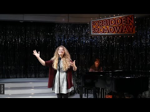 Carrie Hope Fletcher auditions for Forbidden Broadway