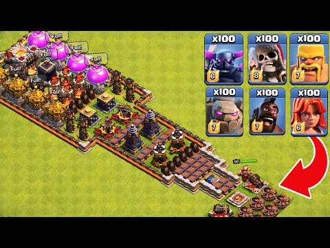 who-can-survive-this-difficult-trap-on-coc?-trap-vs-troops-#2