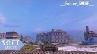 AMX 13 75: 3000 Damage , 3 Frags (1vs3) - WOT BLITZ -