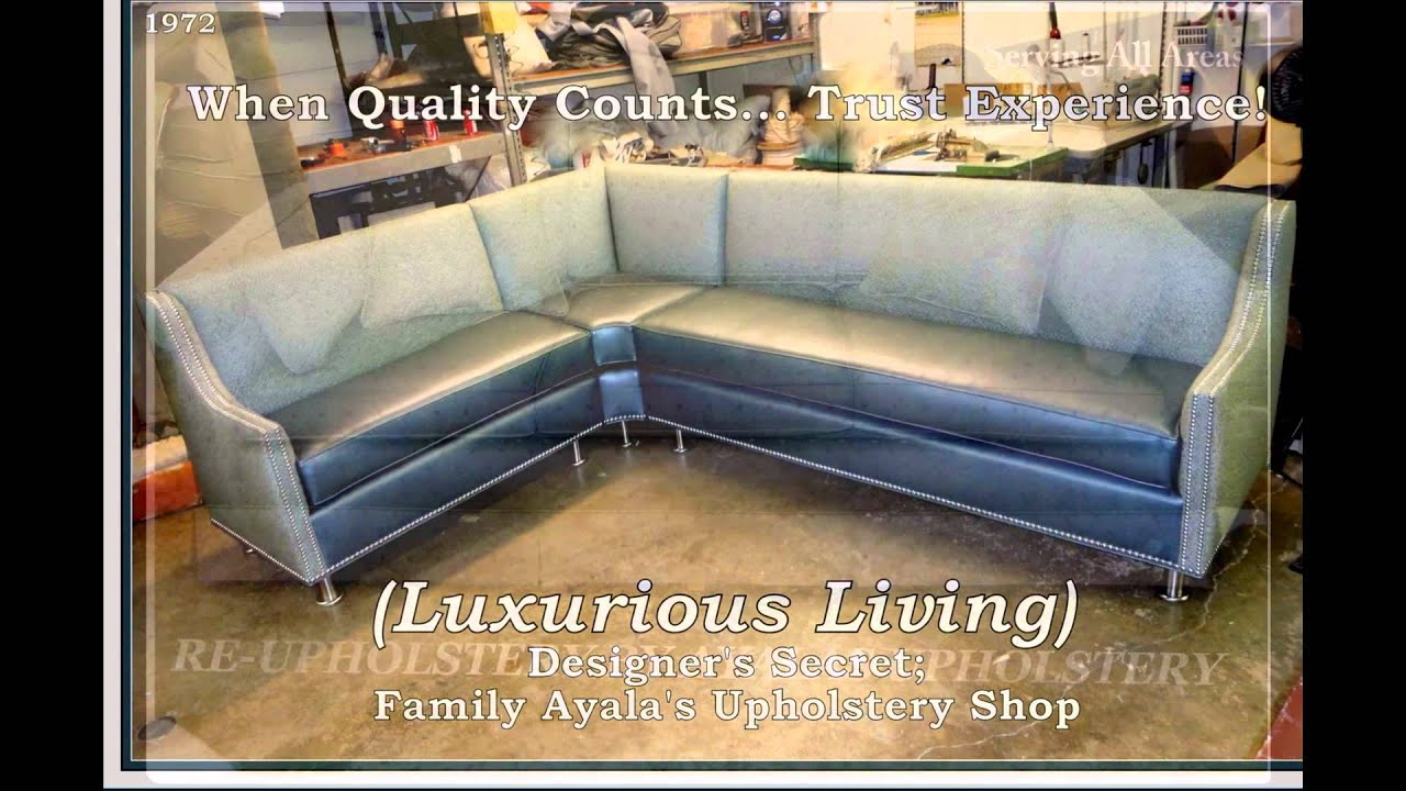 custom sofa los angeles ca dark grey with cream walls family ayala 39s upholstery and made furniture