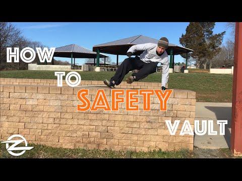 how to build a parkour vault