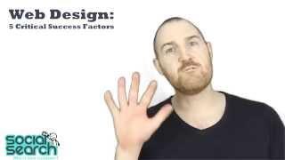 Web Design: 5 Critical Success Factors