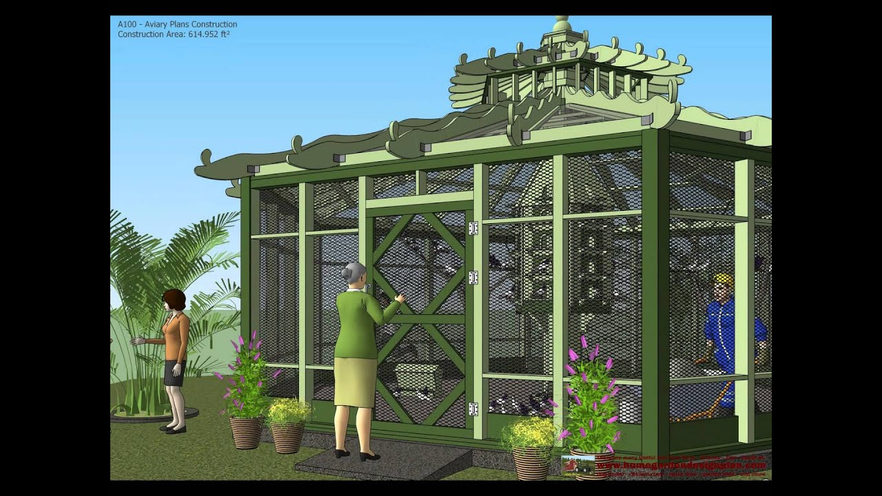 A100 Aviary Plans Construction Aviary Design How To Build A