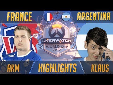 France vs Argentina - SoOn Duels Klaus | Overwatch World Cup 2017 Shanghai Esports Highlights