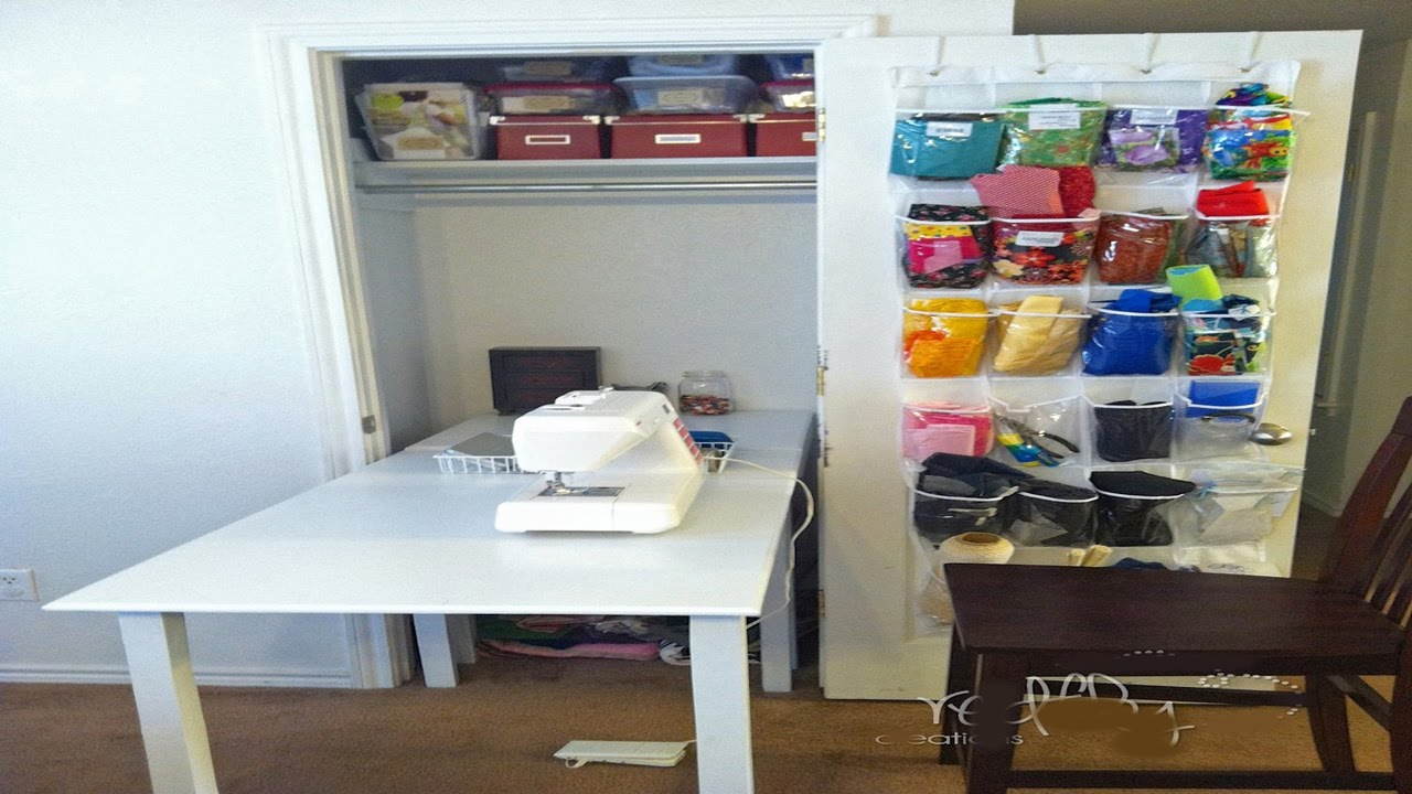 Quilting sewing room design ideas - YouTube