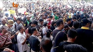 Multi-racial turnout at Penang price hike demo