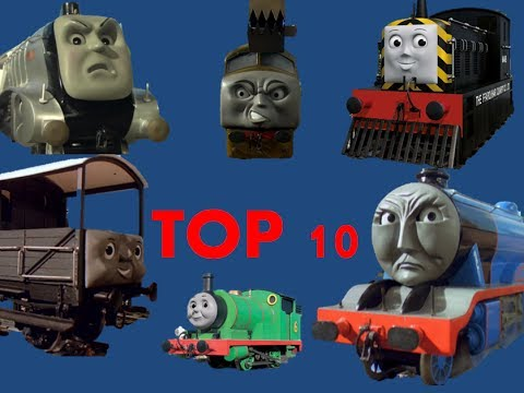Top 10 Thomas & Friends Characters
