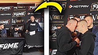 NAJLEPSZE MOMENTY - FAME MMA 2 - KONFERENCJA 2 | WALLTHIS 🔥
