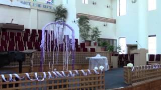 Свадебная арка своими руками - как мы украшение зала самостоятельно