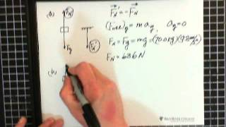 3c. Force & Motion: Newton's Laws of Motion: Vertical Motion