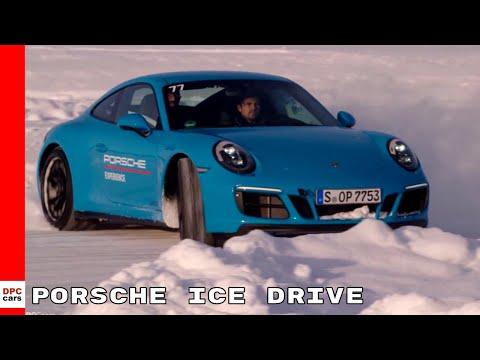 Porsche Ice Drive Training Event