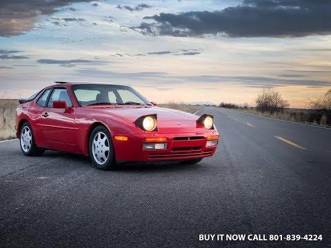 1988 Porsche 944 Turbo S, 67K Original Miles, Near Mint Inside & Out