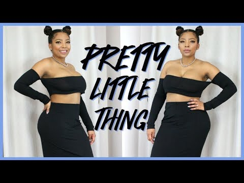PRETTY LITTLE THING TRY ON HAUL & REVIEW / GET YOUR SIZE RIGHT!