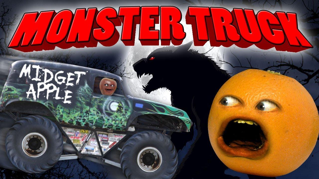 Annoying Orange Monster Truck AC DC Thunderstruck