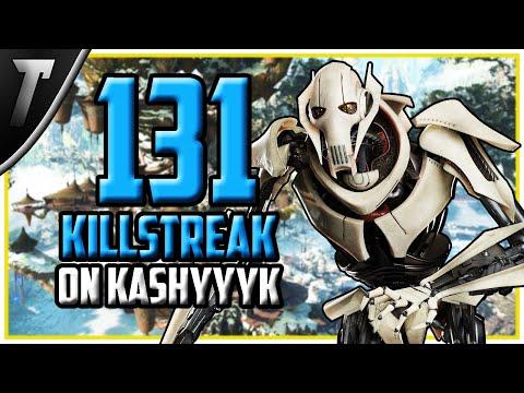 WORLD RECORD: 131 General Grievous Killstreak - Star Wars Battlefront 2 Gameplay thumbnail