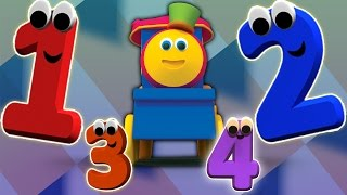 Bob o trem | Número de aventuras | Números para crianças | Bob The Train | Learn Numbers | Kids Song