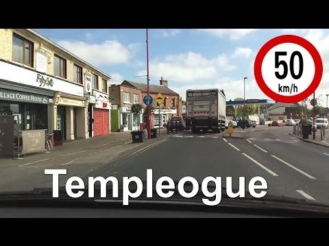 Dash Cam Ireland - Templeogue Road, Dublin