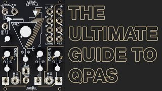 Make Noise QPAS // Quad Peak Animation System & Stereo Eurorack Filter