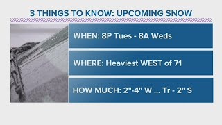 Brief return to winter with accumulating snow coming to Northeast Ohio