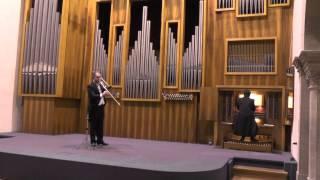 Antonio Caldara Sonata per trombone barocco e organo