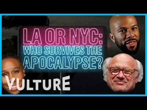 LA or NYC: Who Survives the Apocalypse?