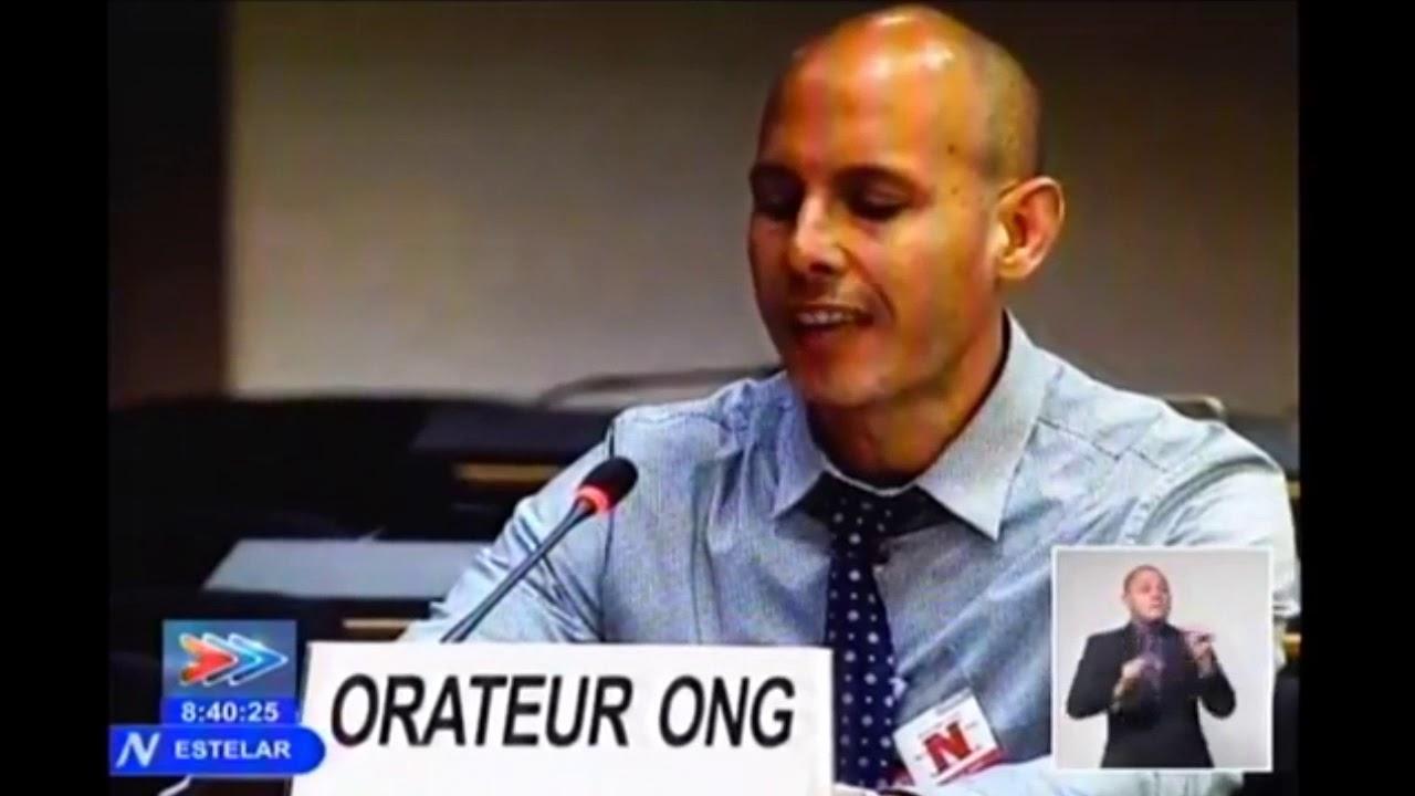 Ariel Ruiz Urquiola fracasa su intento de desacreditar a la Revolución Cubana en Ginebra