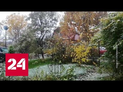 Снегопад на сутки оставил село во Владимирской области без света и отопления - Россия 24
